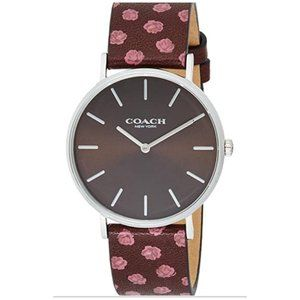 NWT Coach Women's Red Dial Multicolor Watch